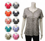 Wholesale Womens Ex Chainstore T-Shirt Top Button Up Assorted